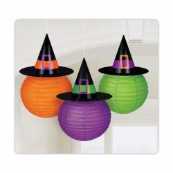 Witches Crew Halloween Hanging Lanterns Decorations