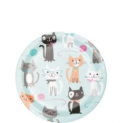 Purr-fect Party Lunch Plates