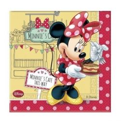 Minnie Mouse Cafe Party Napkins