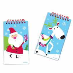 Joyful Snowman Party Favour Note Pads