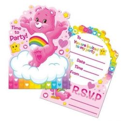 Care Bear Caring Is Sharing Party Invitations