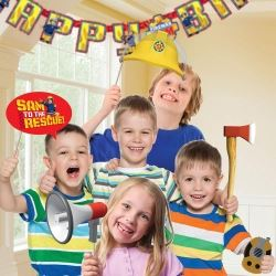 Fireman Sam Party Photo Props