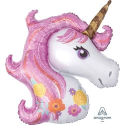 Magical Unicorn Super Shape Foil Balloons