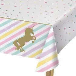 Unicorn Sparkle Deluxe Party Tablecovers