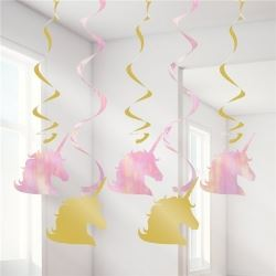 Unicorn Sparkle Party Dizzy Danglers Decorations