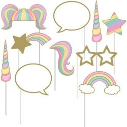 Unicorn Sparkle Party Photo Booth Props