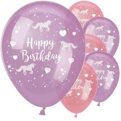 Unicorn Sparkle Party Balloons