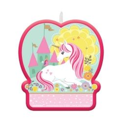 Magical Unicorn Party Candles