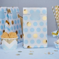 Pattern Works Pick & Mix Glitz Blue Party Bags