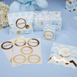 Pattern Works Pick & Mix Glitz Christening Party Stickers