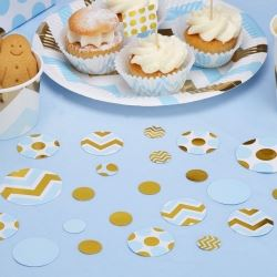 Pattern Works Pick & Mix Glitz Blue Party Table Scatter