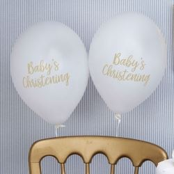 Pattern Works Pick & Mix Glitz Blue Christening Balloons