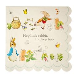 Peter Rabbit Party Napkins