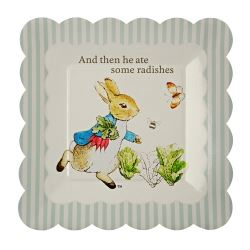 Peter Rabbit Party Lunch Plates