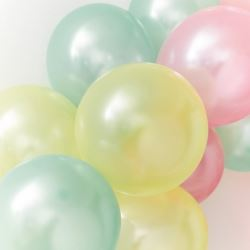 We Love Pastel Party Balloons