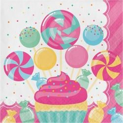 Candy Bouquet Sugar Buzz Party Napkins
