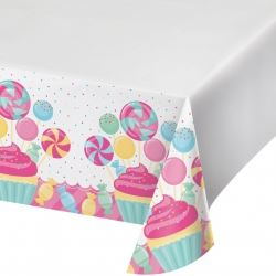 Candy Bouquet Sugar Buzz Party Tablecovers