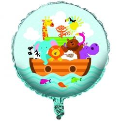Noah's Ark Party Foil Balloon