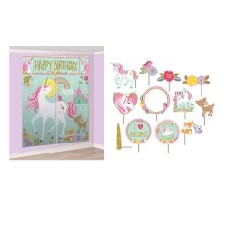 Magical Unicorn Scene Setter & Prop Kit