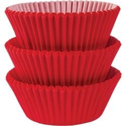 Apple Red Cupcake Cases