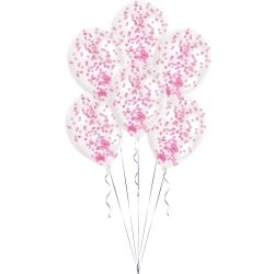 Confetti Pink Latex Balloon Kits