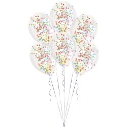 Confetti Coloured Latex Balloon Kits