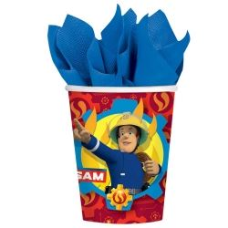 New Fireman Sam Party Cups