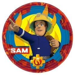 New Fireman Sam Party Plates