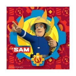 New Fireman Sam Party Napkins