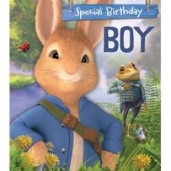 Peter Rabbit Birthday Boy Card