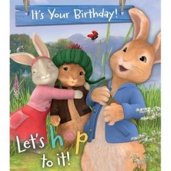 Peter Rabbit Birthday Card General