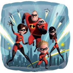 Disney The Incredibles 2 Party Foil Balloons