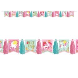 Magical Unicorn Tassel Garlands