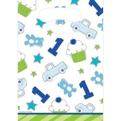 Doodle 1st Birthday Boy Party Bags