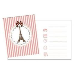 A Day In Paris Party Invitations