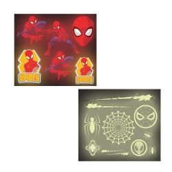 Spiderman Party Favour Glow In The Dark Stickers