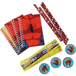 Spiderman Party Sationary Sets