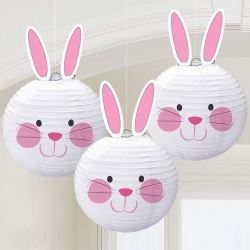 Bunny Rabbit Hanging Lantern Decorations
