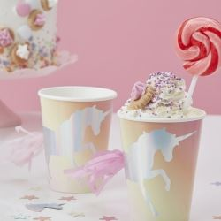 Make A Wish Unicorn Party Cups