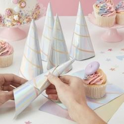 Make A Wish Unicorn Horn Party Napkins