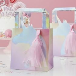 Make A Wish Unicorn Horn Party Bags