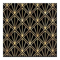 1920s Hollywood Party Metallic Napkins
