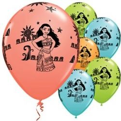Disney Moana Party Balloons