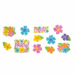 Hawaiian Hibiscus Party Cutouts