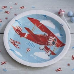 Ginger Ray Flying High Party Plates