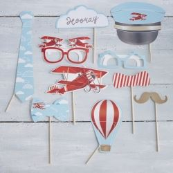Ginger Ray Flying High Party Photo Prop Kit