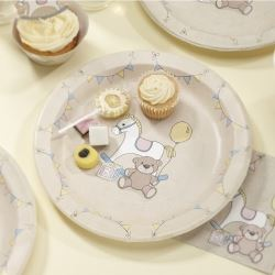 Rock A Bye Baby Party Plates