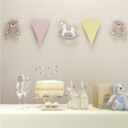 Rock A Bye Baby Party Bunting