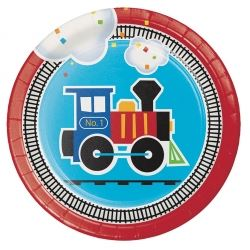 All Aboard Party Lunch Plates
