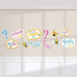 What Will It Bee Party Cutout Decoration Kit